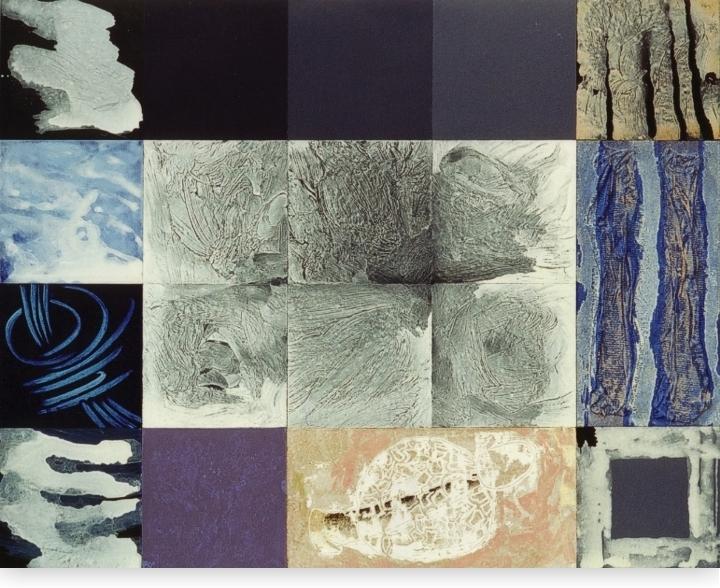Hoe het organisme uiteindelijk zijn eigen plaats vond - 246 x 306 cm