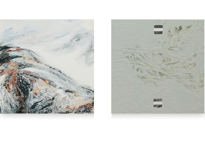My personal mountain2 - 2x 60 x 60 cm - 2011