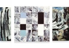 Gletscher - 42 x 119 - 119 x 119 - 59 x 119 cm
