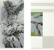 Moody tree 2 - 2x 30 x 60 cm - 2010