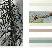 Moody tree 4 - 2x 30 x 60 cm - 2010