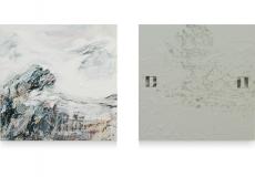 My personal mountain1 2x 60 x 60 cm - 2011