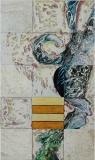 Zelfportret - 90 x 150 cm. 2012
