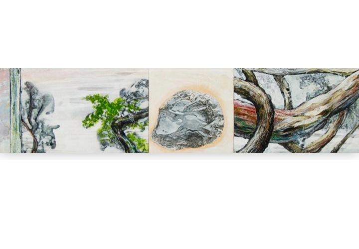 Precious stone no 2 - 127,5 x 30 cm 2015