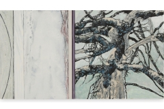 High mountain tree 111 x 60 cm